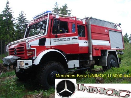 Cisternová automobilová stříkačka CAS 24 Unimog